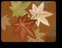 紅葉刺繍2